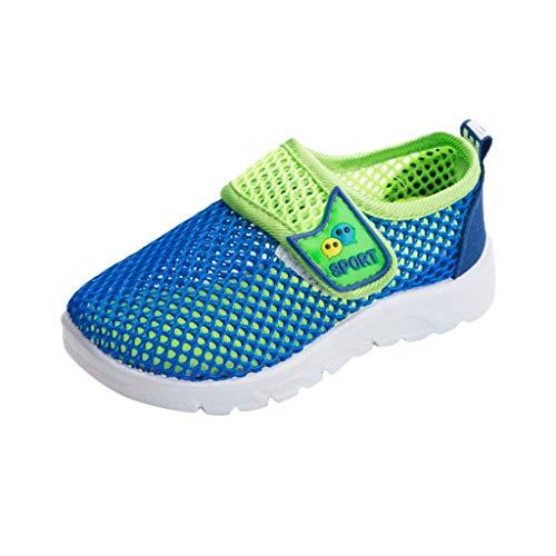 Pingtr - Unisex Babyschuhe Atmungsaktives Sportschuhe,Männer und Frauen Single Net Sneakers atmungsaktive Schuhe Mesh-Schuhe Laufschuhe Kinderschuhe Sport.