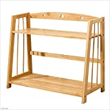 TX ZHAORUI Bücherregal Bamboo Tisch Shelf Simple Child Student Dormitory Bookshelf Schreibtisch Trapezoid Small Bookshelf