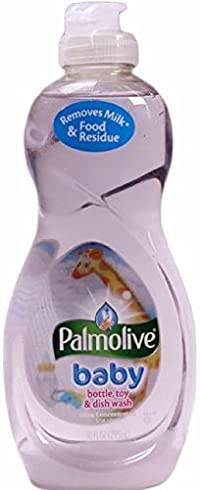 Palmolive Baby Bottle, Toy & Dish Wash, Ultra Concentrated, 10 ounce, (Pack of 6)