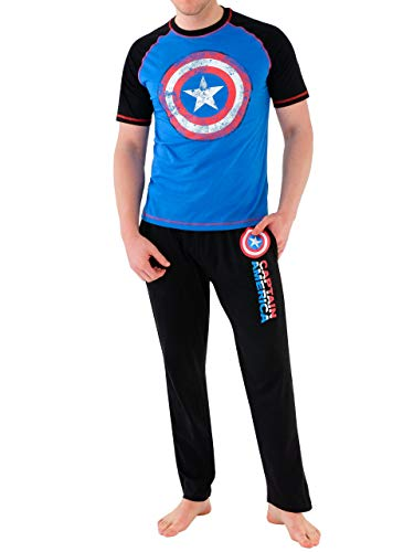 Marvel - Pijama Hombre - Avengers Capitán América