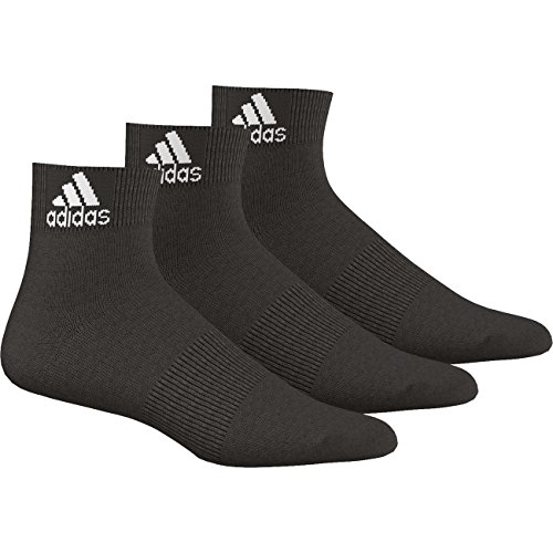 Adidas Quarter Performance Ankle Thin 3PP 9er Pack, Größe:35-38;Farbe:Schwarz (AA2321) (Socken Damen Performance Quarter)