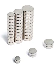 ART IFACT 30 Pieces of Magnets of 3 Different Sizes - 10mm, 8mm and 6mm Magnets for Multi-Use, Project Magnet (1)