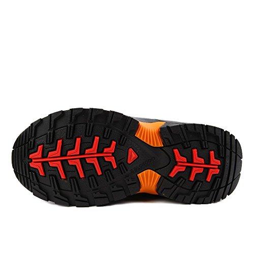 Salomon Xa Pro 3d Cswp J, Scarpe da Escursionismo Bambino Multicolore (Black/Black/Fiery Red)