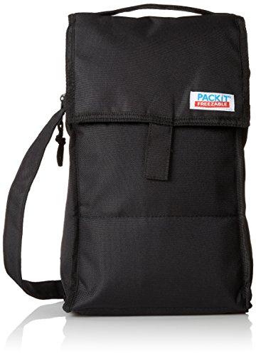 PackIt PKTDBBLA - Tasche für zwei Flaschen (Speichert Trolley)
