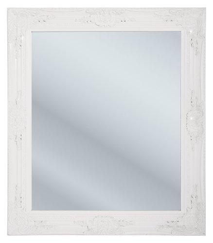 Kare specchio in stile barocco 74 x 64 cm colore for Specchio da parete bianco lucido