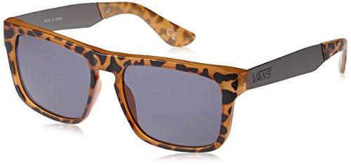 Vans Herren Sonnenbrille, Squared Off, GR. One size (Herstellergröße: One Size), Braun (Clear Tortoise/Gun Metal)