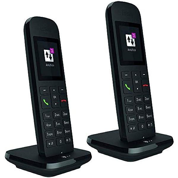 Telekom Speedphone 12 Duo Schwarz Elektronik