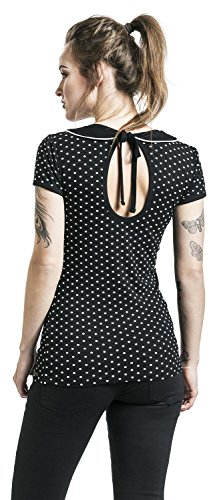 Pussy Deluxe Best Collar Girl-Shirt Schwarz Schwarz