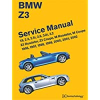 BMW Z3 Service Manual: 1996, 1997, 1998, 1999, 2000, 2001, 2002: 1.9, 2.3, 2.5i, 2.8, 3.0i, 3.2 - Z3 Roadster, Z3 Coupe, M Roadster, M Coupe by Bentley Publishers published by Bentley Publishers (2010) - 1996 Bmw Z3 Roadster