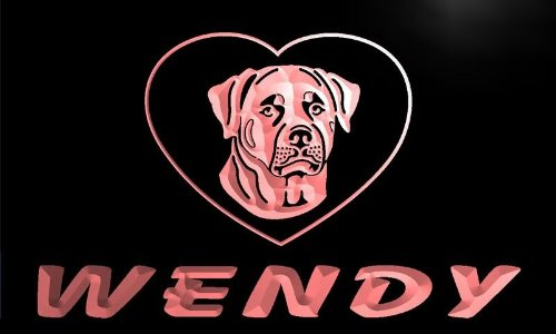 vfg115-r-wendys-rottweiler-dog-house-home-pet-neon-light-sign