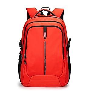 41kHYxVZejL. SS300  - Maod Bolso Portátil Color Sólido Mochilas Escolares Impermeable Mochilas de Escolar Bolsa de Escuela Mujer Laptop…