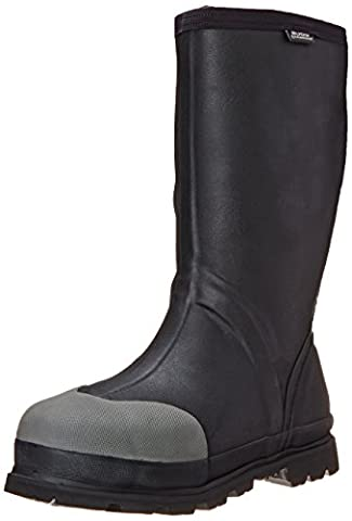Bogs Men's Forge STMG Waterproof Insulated Work Boot, Black