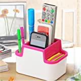 #10: LWVAX Multipurpose Desk Organiser, cosmetic organizer , Pen Stand, Mobile Stand, Remote Stand, Table Organiser For Office, Multipurpose Stand ( Color May Vary )