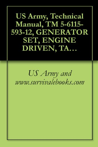 US Army, Technical Manual, TM 5-6115-593-12, GENERATOR SET, ENGINE DRIVEN, TACTICAL SKID MTD, 500 KW, 3 PHASE, 4 WIRE; 120/ 240/416 VOLTS DOD MODEL MEP-029A; ... CABLE, (6110-01-087-4127), (English Edition) Optionale Module