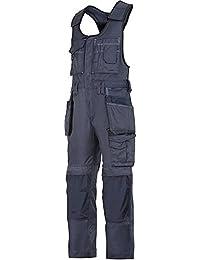 Snickers - Mono de trabajo con bolsillos acolchados, color azul