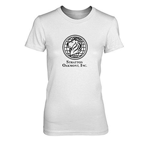 Wolf Street Wall Kostüme Of (Stratton Oakmont Inc. - Damen T-Shirt, Größe: XL, Farbe:)