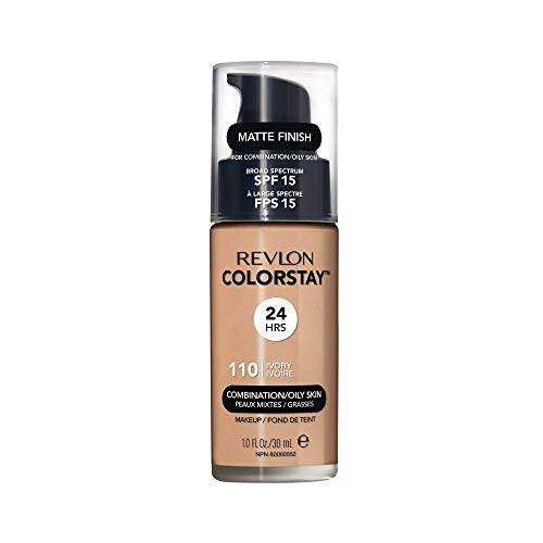 Revlon ColorStay Makeup for Combi/Oily Skin Ivory 110, 1er Pack (1 x 30 g) -