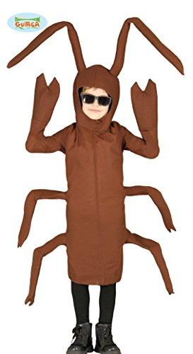 Kakerlake Kinder Kostüm Gr. 110-146, Größe:140/146