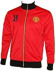 Veste zippée Manchester United - Collection officielle - Taille adulte homme