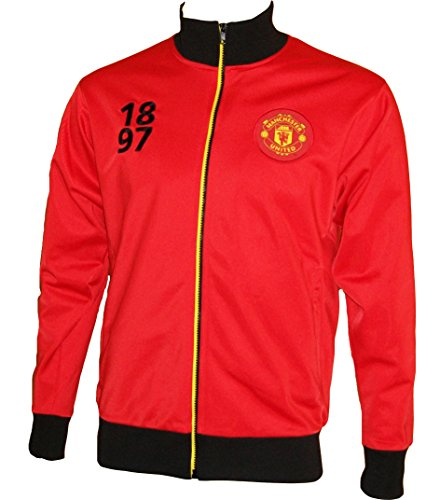 Veste zippée Manchester United - Collection officielle - Taille adulte homme