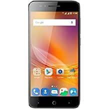"""ZTE Blade A610 - Smartphone libre de 5"""" (4G, MediaTek MT6735, 2 GB de RAM, almacenamiento interno de 16 GB, Bluetooth, WiFi, Android), color gris"""