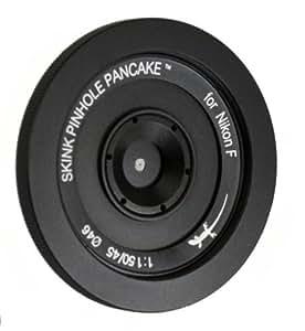 Skink Pinhole Pancake Retro Kit objectif pancake pinhole pour Nikon F