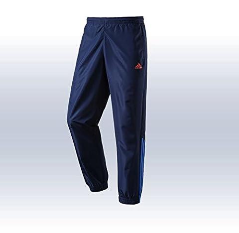 Adidas Herren Hose Tentro Freizeithose Trainingshose Präsentationshose Collnavy-Bright Royal,
