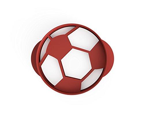 Retro Fußball Ausstecher 4,5cm aus Bio Kunststoff Made in Germany