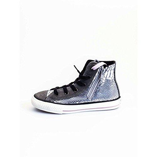 Converse Chuck Taylor Hi Side Zip Textile/Suede Print damen, wildleder, sneaker high, 36 EU -