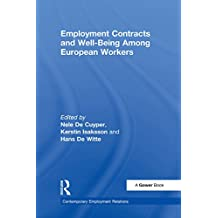 Employment Contracts and Well-Being Among European Workers (Contemporary Employment Relations)