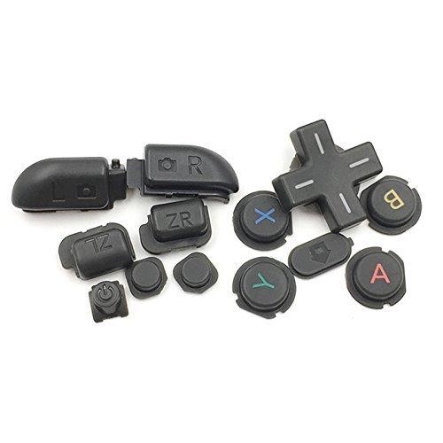 Ersatzknöpfe für Nintendo 3DS XL LL Grau R & L Zr ZL Taste Teile D Pad (Oberfläche in Home Power Button Set