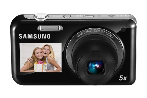 Samsung Ec-pl120 14.2mp Point And Shoot Camera (black) With 5x Optical Zoom