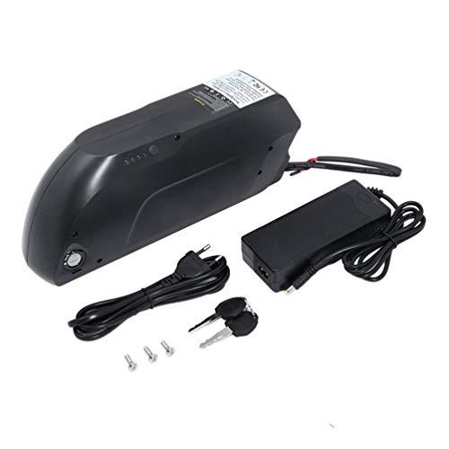Batería de Litio para Bicicleta eléctrica de Ebike 48V 1000W 10AH Prophete E-Bike, Pedelec Elektrofahrrad baterías E-Bike Pedelec Litio Litio batería Set, batería de Litio con Cargador y Enchufe USB