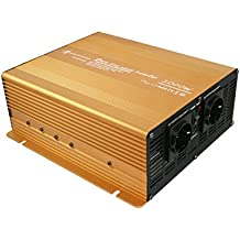 Spannungswandler 12V 2000 4000 Watt reiner SINUS Power USB 2.1A Gold Edition