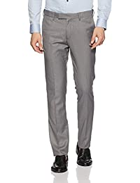 US Polo Association Men's Straight Fit Formal Trousers