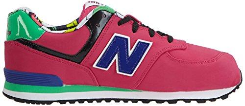 New Balance Kl574, Baskets Basses Fille Rose (pink/purple)