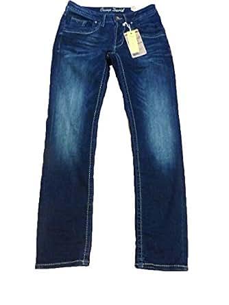 camp david men 39 s jeans blue dark vintage blue w33 l34 clothing. Black Bedroom Furniture Sets. Home Design Ideas