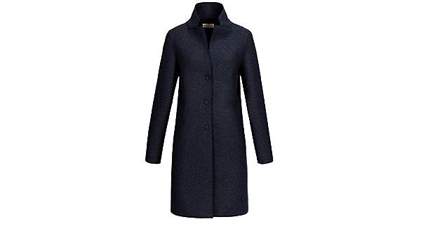 GIESSWEIN Walkmantel Ilona Warmer Mantel aus 100/% Wolle Filzmantel f/ür den Herbst eleganter Mantel mit Kapuze atmungsaktive Damen Jacke Bekleidung aus Wolle