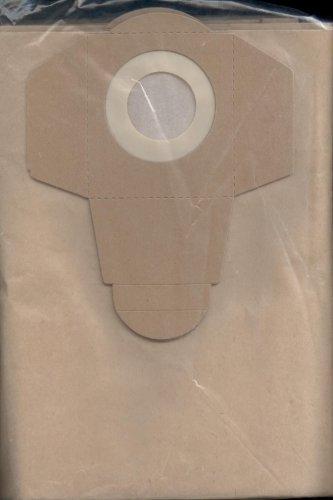 5 Sacs aspirateur pour | AQUA VAC - NTS 30 Inox Professional | AquaVac by EWT - 906-02 (45120272) - Industrial 30 - NTP 30 Professional - NTS 30 Inox Synchro Professional - NTS 30 Inox Professional | BUILD WORKER - BVC 1400 E et P (30 litres) | ELEM TECHNIC - AEP 1250 30 litres | FARTOOLS - NETUP 1400 S 30 litres | FIF - NTS : 30, 3000 | PARKSIDE - PNTS 30/4, 30/6, 30/6S, 30/7E, 30/8E, 35/5