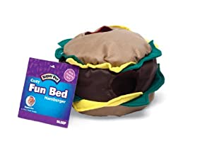 Super Pet 276869 Hamster Fun Bed Hamburger from Super Pet