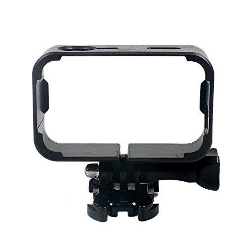 custodia con bordi custodia impermeabile fino a 45 m Kingwon Kit di accessori 5 in 1 per camera Xiaomi Mijia 4K Mini borsa da trasporto tappo copri-obiettivo custodia in morbido silicone