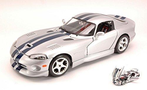burago-bu12041-dodge-viper-gts-coupe-silver-118-modellino-die-cast-model