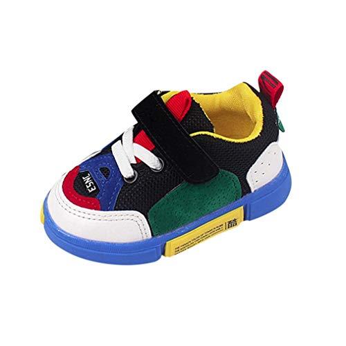 130e793d1a6 Zapatillas NiñO,ZARLLE Zapatos Deportivos para NiñOs Y NiñAs con Malla De  Zapatos Casuales Zapatos