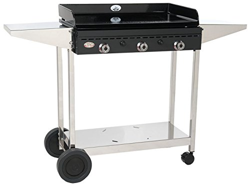 Chariot inox pour plancha Forge Adour Iberica 750