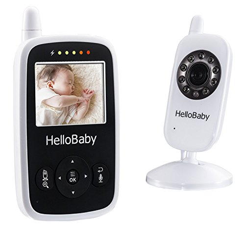 HelloBaby HB24 Wireless Video Baby Monitor & Camera