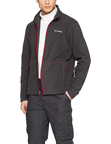 Columbia Herren Fast Trek Light Fleece Jacket and Sweaters, Schwarz (Shark), L -