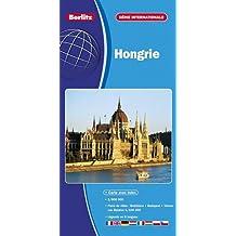 Hongrie, carte routière et touristique (échelle : 1/800 000) - Plans du centre-ville de Budapest, Bratislava et de Vienne (Wien).