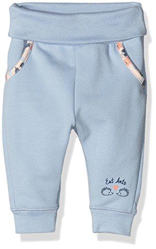 Sanetta Baby-Mädchen Jogginghose 113735, Blau (Dove Blue 50190), 68
