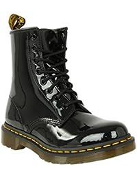 b7157f6d490 Dr. Martens Chaussures - 1460 8 Brevet Brillance supérieure à Bottes  Chaussures à Lacets pour