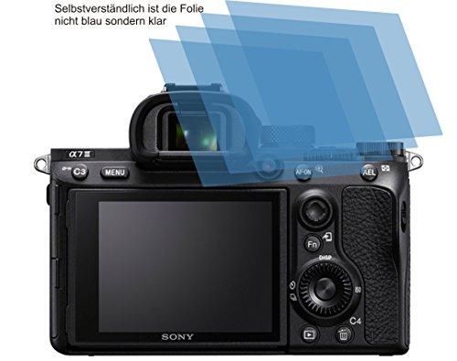 4x ANTIREFLEX matt Schutzfolie für Sony Alpha 7 III Displayschutzfolie Bildschirmschutzfolie Schutzhülle Displayschutz Displayfolie Folie